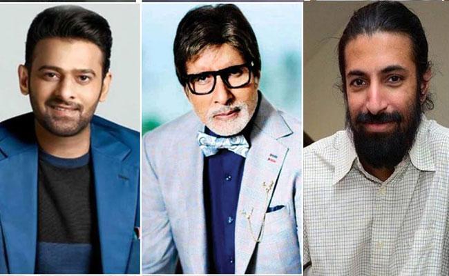 Prabhas, Amitabh, Nag Ashwin Movie Shooting Started With Pooja - Sakshi