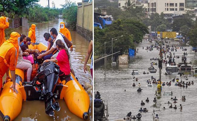112 Dead, 99 Missing In Rain Related Incidents In Maharashtra Floods  - Sakshi