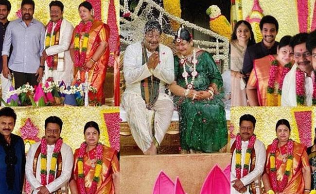 Actor Sai Kumar Shashti Poorthi Celebrations Photos Viral In Social Media - Sakshi