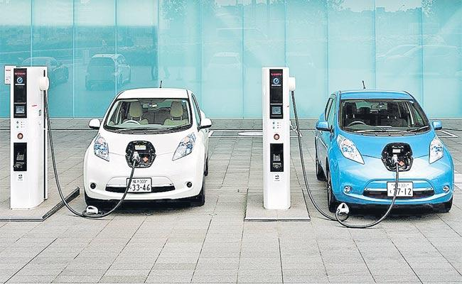 Electric Vehicles To Reduce Air Pollution In State - Sakshi
