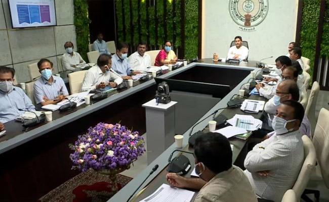 AP CM YS Jagan Mohan Reddy Review Meeting On Agri Infra Fund - Sakshi