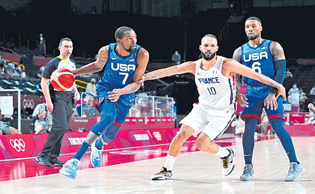 US mens basketball team lose at Olympics for first time since 2004 - Sakshi