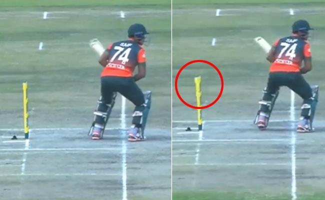 Ghost Interrupts Zimbabwe Vs Bangladesh Second T20I Match, Video Spooks Cricket Fans - Sakshi