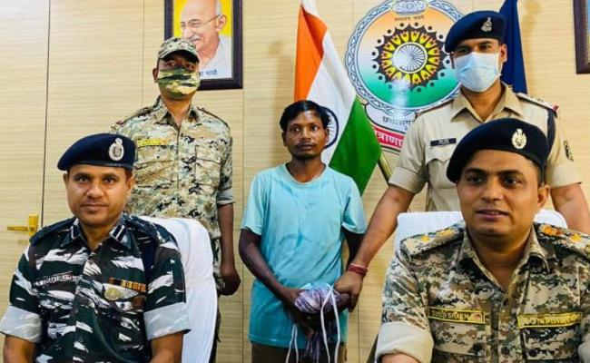 Maoist Commander Tiger Hunga Caught By Police - Sakshi