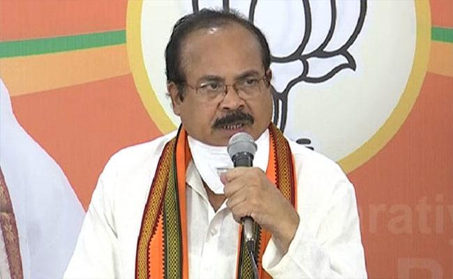 Huzurabad: Enugala Peddi Reddy Resigns For BJP - Sakshi