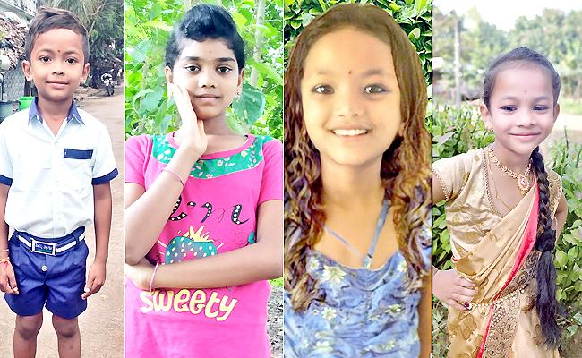 Four Children Fall Into A River And Their Lifes End - Sakshi