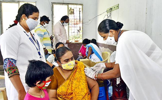 1150911 People Were Vaccinated In Special Drive 2021 July In Andhra Pradesh - Sakshi