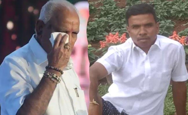 Fan Life Ends BS Yediyurappa Expressd Shock - Sakshi