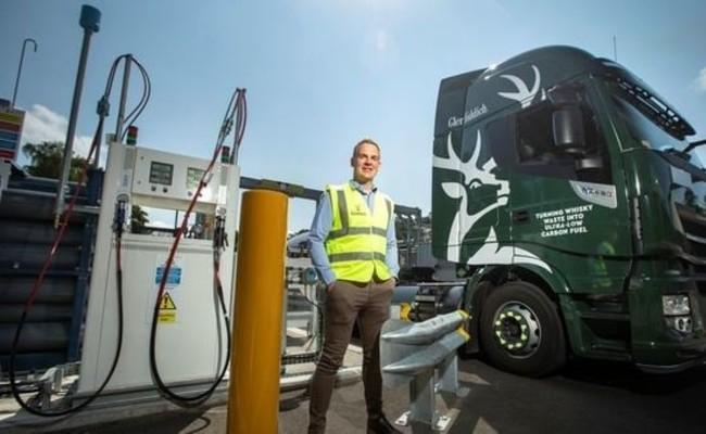 Glenfiddich is Running Trucks on Biogas Made From Liquor Waste - Sakshi