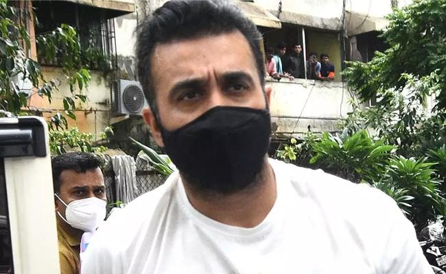 Raj Kundra Denied Bail And Sent To Judicial Custody For 14 Days - Sakshi