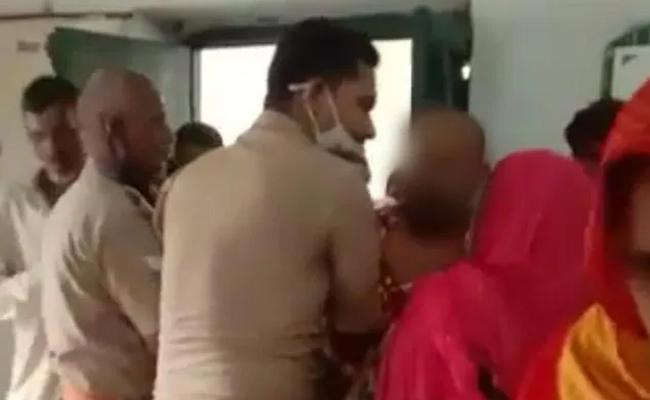 UP Man self terminates After Vaccine Centre Brawl Case Against 5 Cops - Sakshi