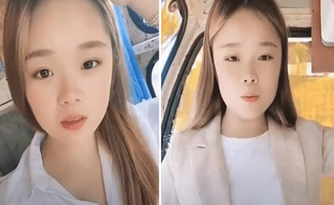 Chinese TikTok Star Xiao Qiumei Falls While Recording video - Sakshi