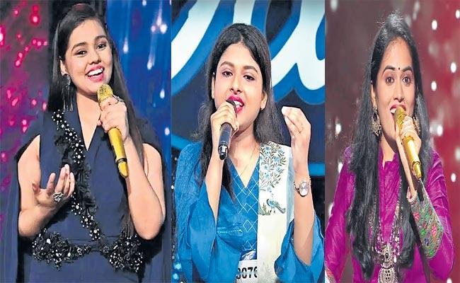 Indian Idol 12 Shanmukhapriya Impresses Fans With Her Performance - Sakshi