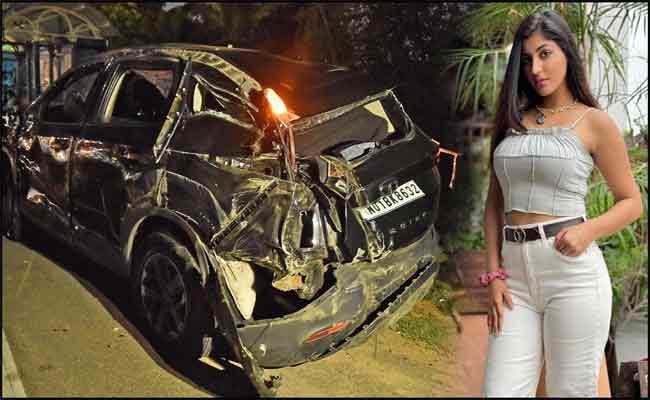 Bigg Boss Fame Yashika Anand Statement To Police On Car Accident  - Sakshi