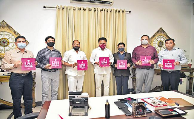 KTR Launches Pink Book For investors - Sakshi