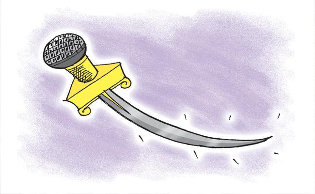 Kommineni Srinivasa Rao Article On Yellow Media False Propaganda - Sakshi