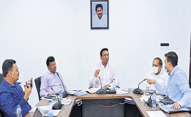 Mekapati Goutham Reddy Special logistics policy soon In Andhra Pradesh - Sakshi