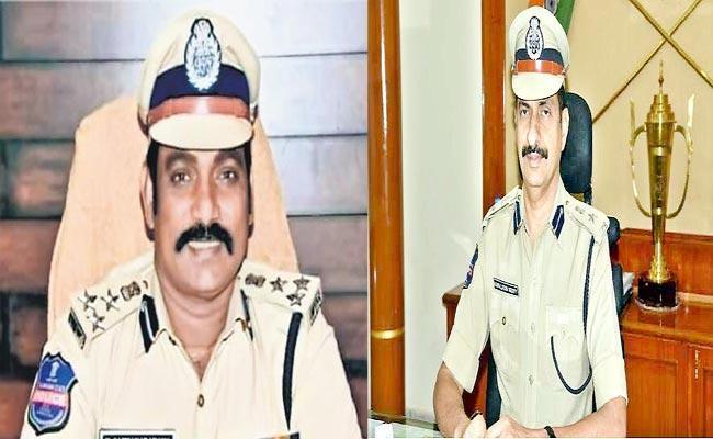 CP Kamalasan Reddy Transfored, V Satyanarayana appointed As Karimnagar CP - Sakshi