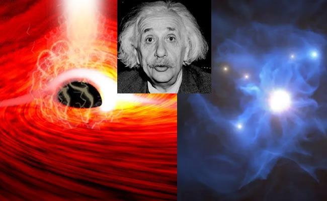 Einstein Relativity Proven Astronomers Detect Light Behind Black Hole - Sakshi