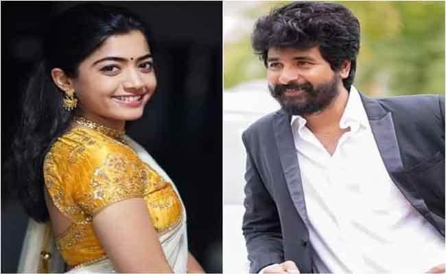 Rashmika Mandanna To Pair Up With Sivakarthikeyan - Sakshi