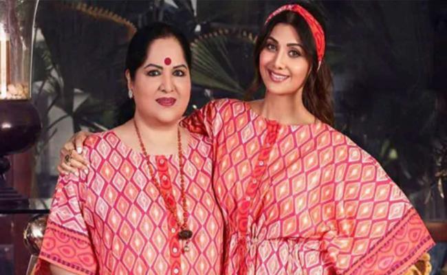 Shilpa Shetty mother Sunanda files cheating complaint in land deal case - Sakshi
