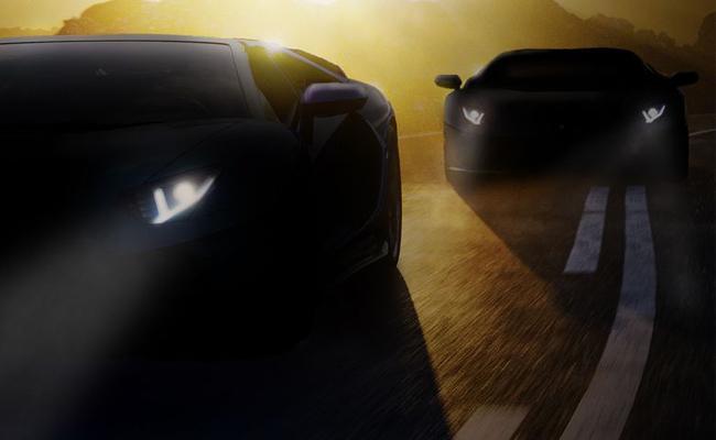 Lamborghini Teases New Model Aventador S Jota In Social Media Platforms - Sakshi