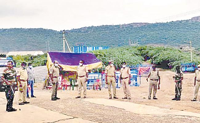 Andhra Telangana Water Dispute,tension Creates On Krishna Water River Project - Sakshi