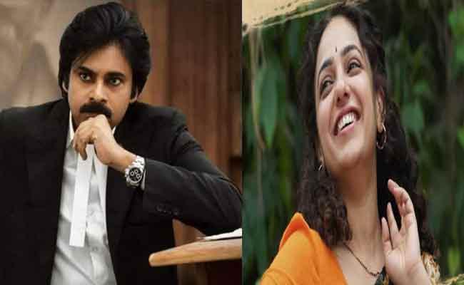 Nithya Menen To Romance Pawan Kalyan: Ayyappanum Koshiyum Remake - Sakshi