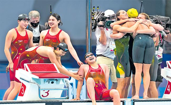 Tokyo Olympics: China Swimmers Won Gold Creates Record In Swimming Event - Sakshi