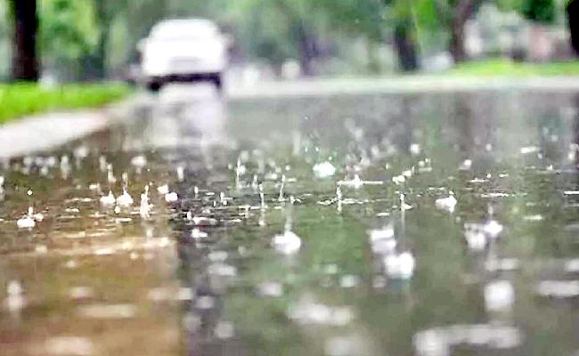 Light Rain In Next 48 hours In Ap Due To Low Pressure - Sakshi