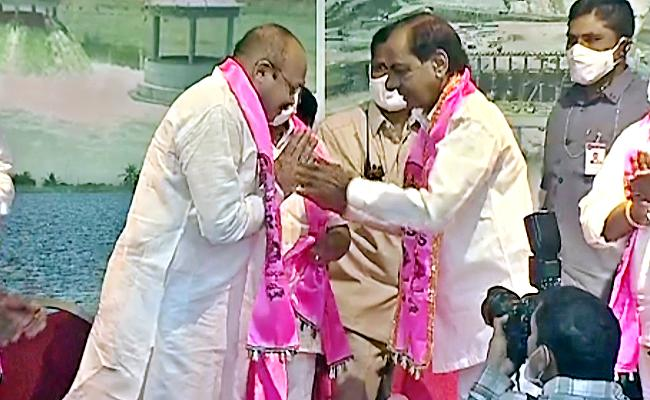 Ex Minister Peddireddy Joins TRS Party In The Presence Of CM KCR - Sakshi