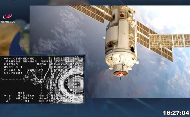 ISS Thrown Out Of Control By Misfire of Russian Module: NASA - Sakshi