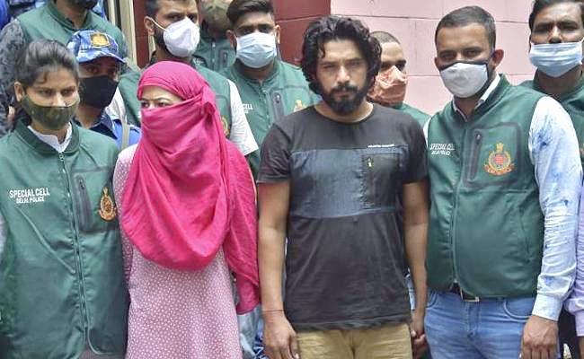 Delhi Police arrests Rajasthan lady don Anuradha after gangster Jathedi - Sakshi
