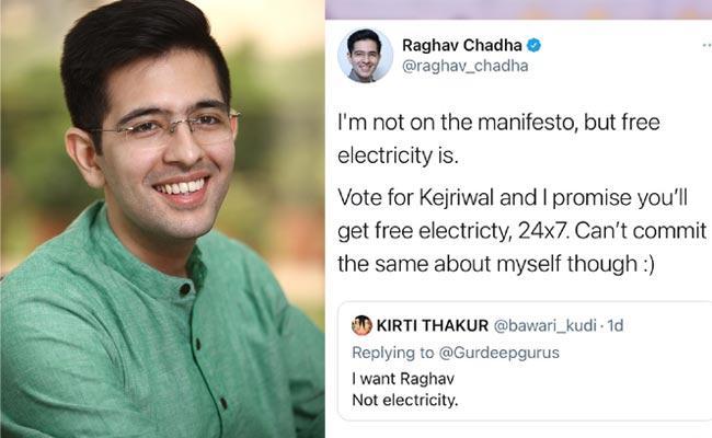 A Women Tweet Viral On AAP MLA Raghav Chadha - Sakshi