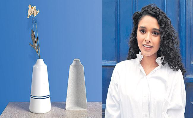 Discarded sinks find new life as Jaipur Blue Pottery - Sakshi