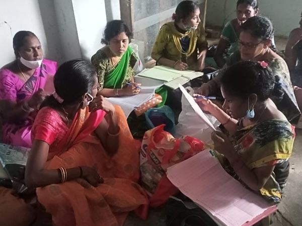 Srikakulam: Icds Project Staff Corrections To Records To Cover The Differences - Sakshi