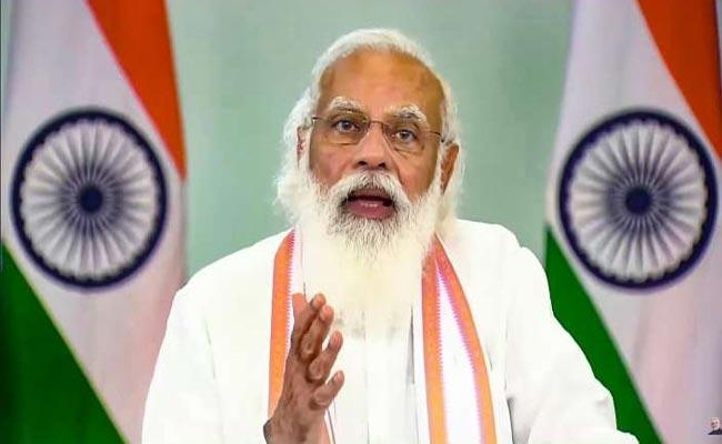 New Delhi: Pm Modi Asks People Share Their Inputs For His August 15 Speech - Sakshi