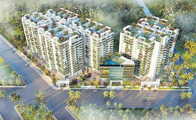 Praneeth Group Under Construction 1, 100 Acres 19 Project - Sakshi