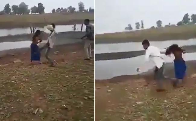 Two Tribal Women Thrashed Chatting On Phone Male Cousins Madhya Pradesh - Sakshi