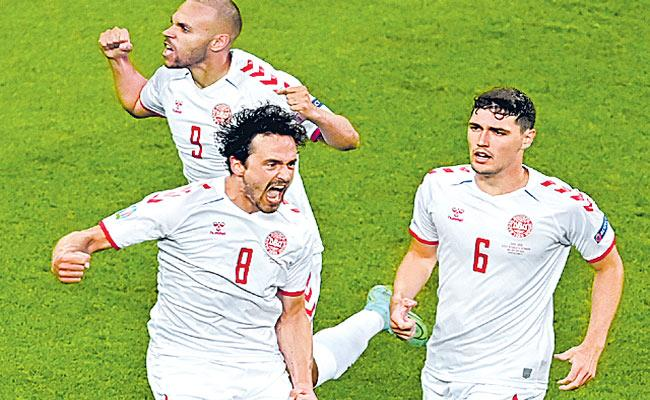 Denmark into last four after 29 years - Sakshi