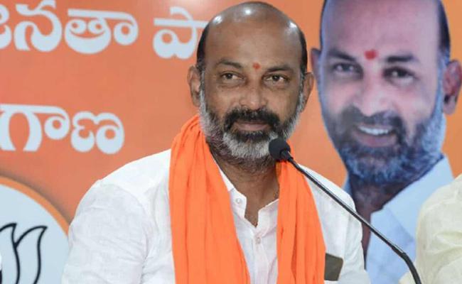 Padayatra Aimed at Democratic Telangana Says Bandi Sanjay - Sakshi