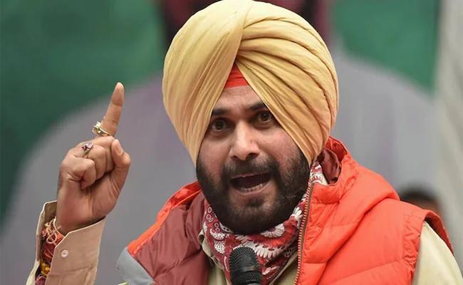 Sidhu Pushes For Free 300 Units Of Power In Punjab - Sakshi