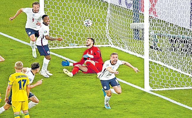 Euro 2020: Kane Scores Brace As England Thrash Ukraine 4-0 - Sakshi