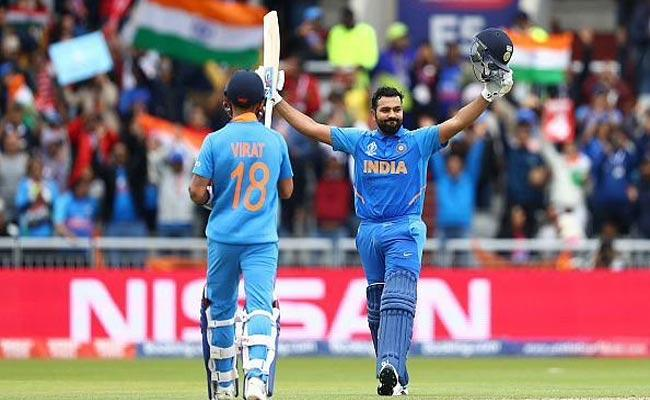 Rohit Sharma Was1st Batsman Hit 5 Hundreds In Single World Cup This Day - Sakshi