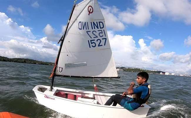 Hyderabad Vishwanath Selected For World Sailing Championship 2021 - Sakshi