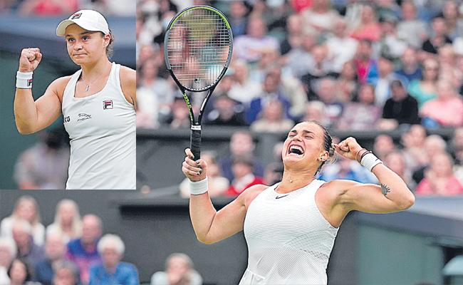 Wimbledon: Sabalenka Stops Ons, Medvedev Stumbles - Sakshi