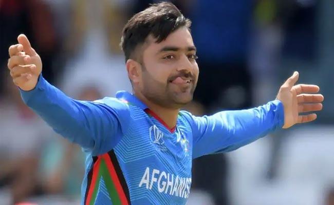 Rashid Khan Name As Captain For Afghanistan Ahead Of ICC T20 World Cup - Sakshi