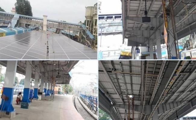 Vijayawada: First Station To Be Covered With 130 KWP Solar Panels - Sakshi