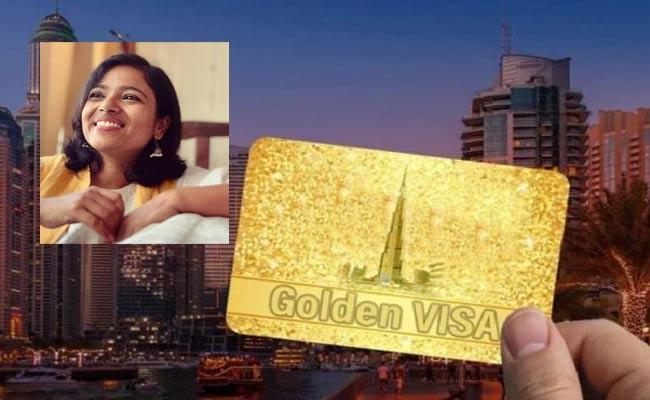 UAE Golden Visa Recieved By Odisha Based Artist Mona Biswarupa Mohanty - Sakshi