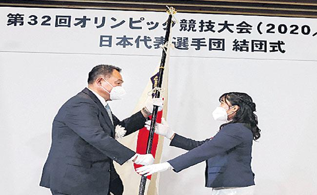 Two Workers in Tokyo Olympics Athletes Village Test Positive - Sakshi